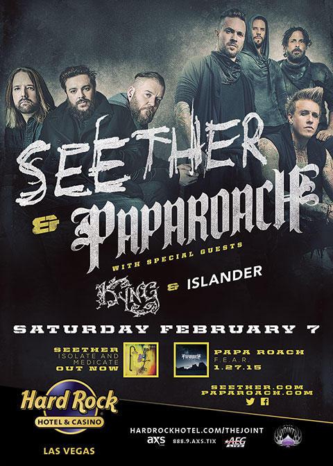 Seether & Papa Roach at The Joint