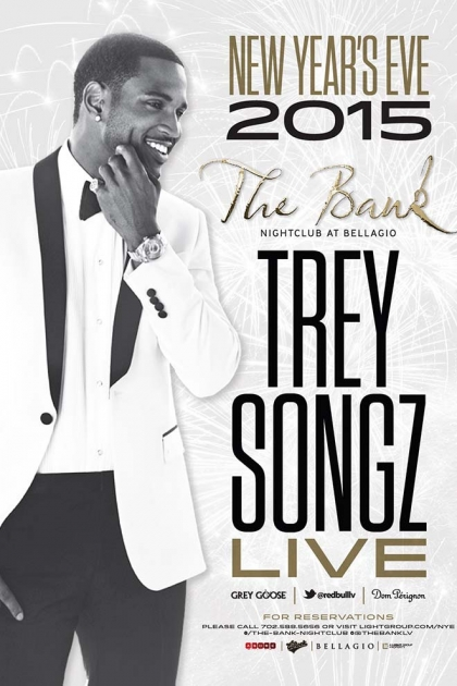 Trey Songz Perfoms Live for NYE at The Bank
