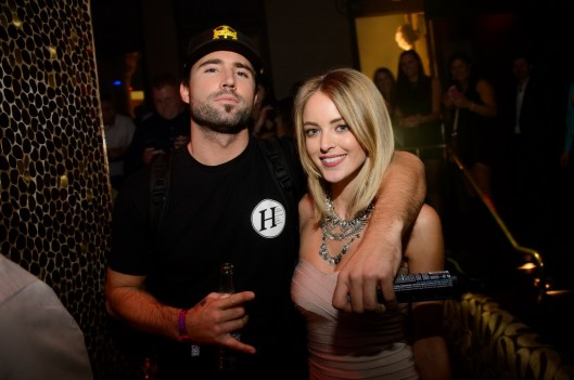 Brody Jenner and Kaitlynn Carter at TAO