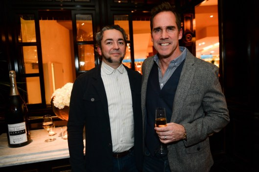 Matthias Merges and Shawn McClain at BARDOT Opening 1.15.15