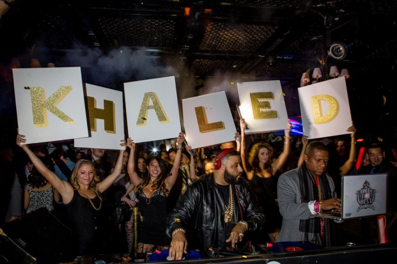DJ Khaled at LAVO NYE 2015 - TAO Group
