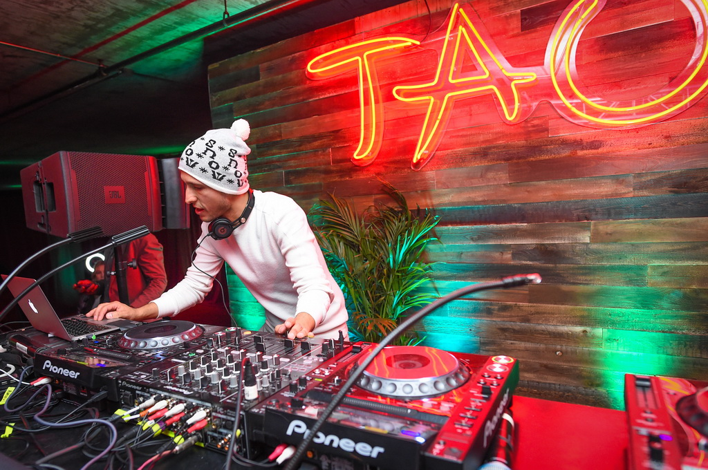 DJ Vice performing at Elyx presents TAO Nightclub at Sundance