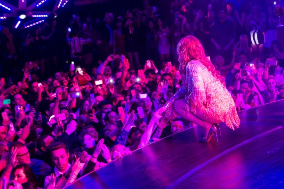 Iggy Azalea at Drai's Beach Nightclub