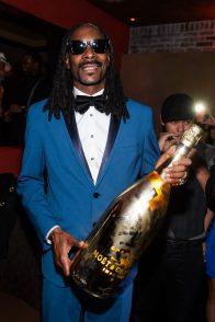 Snoop at TAO NYE 2015 with Shine Bright Moet