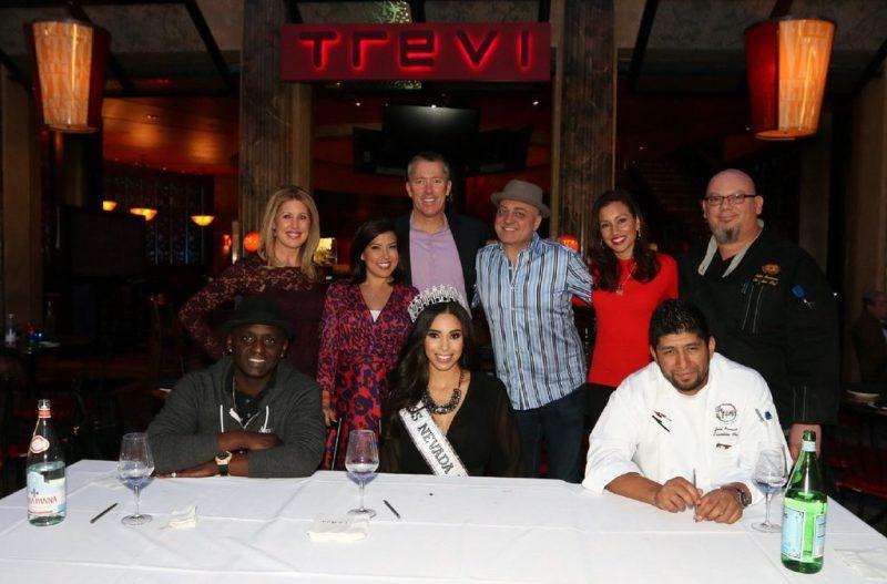 Back Row: Kim Wagner, Olivia Fierro, John Huck, Doug Elfman, Jessica Janner and Chef Peter Scatturo; Front Row: Sean E. Cooper, Brittany McGowan and Chef Jose Navarro