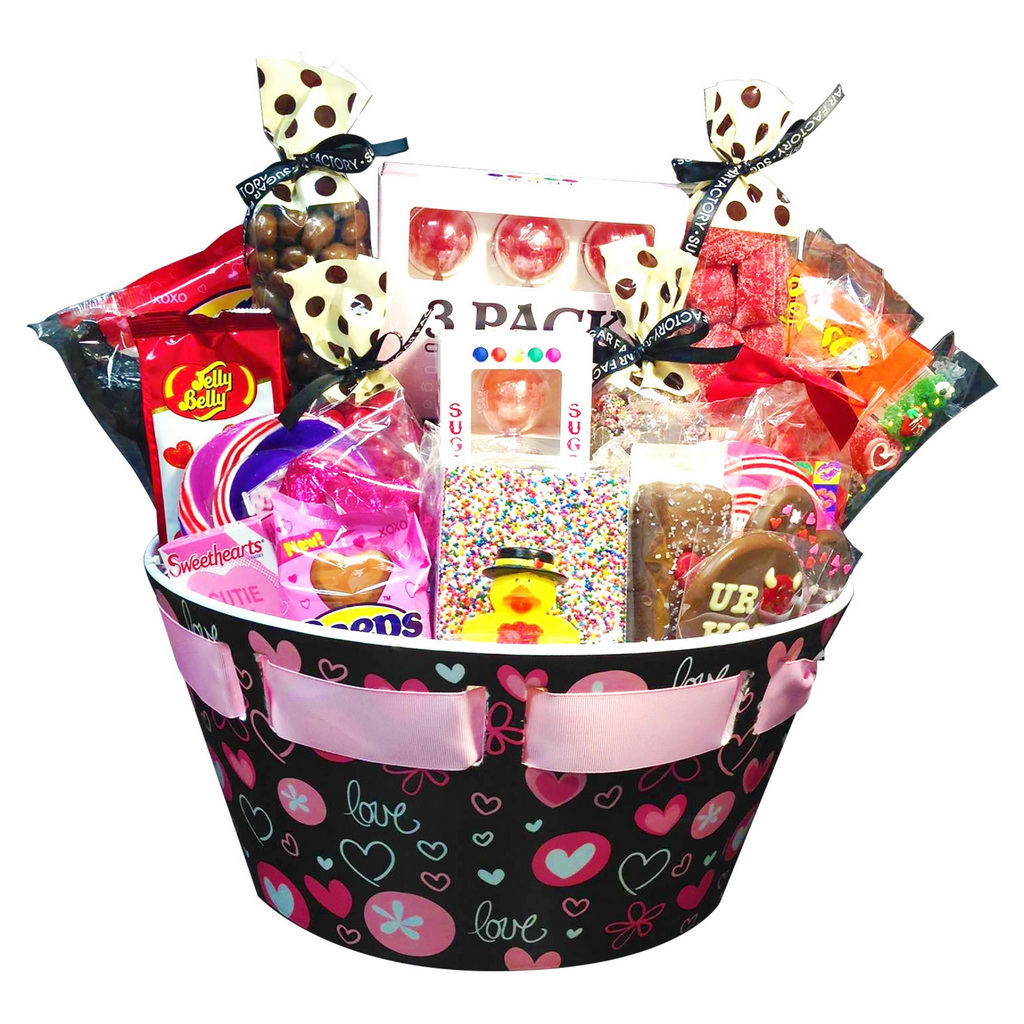 sugar factory eye catching s day gift baskets
