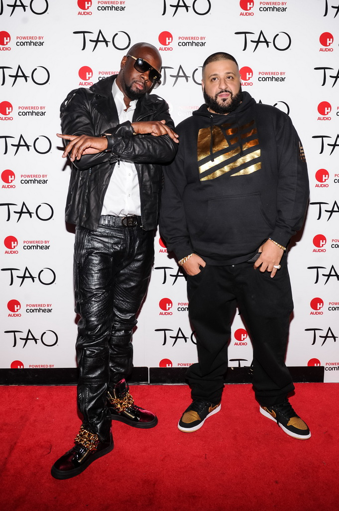 Wyclef Jean and Dj Khaled