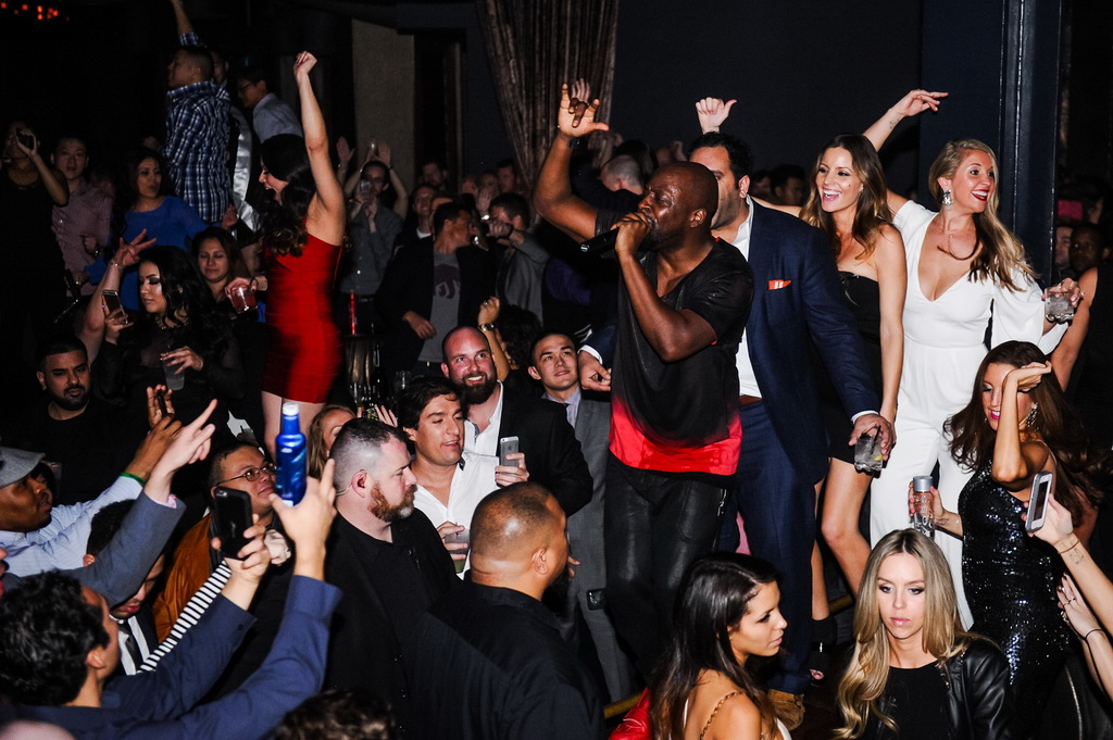 Wyclef at Marquee Nightclub