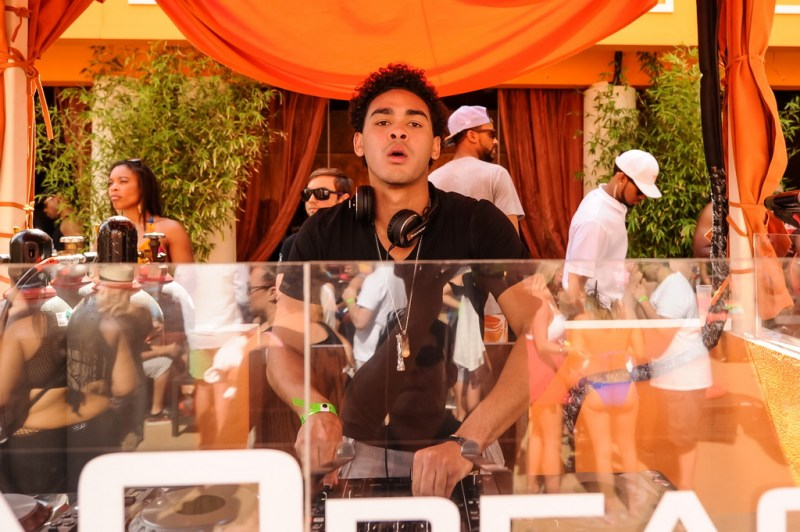 Trey Smith aka DJ Ace at TAO Beach MDW 2015