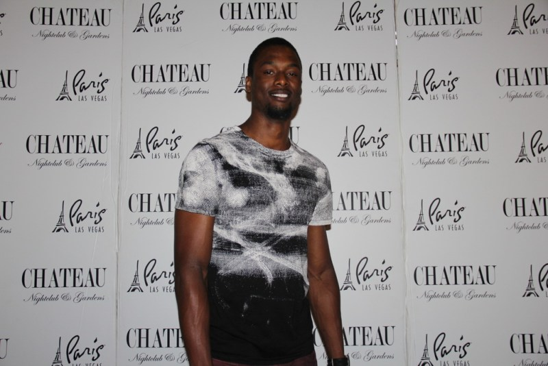 Harrison Barnes poses on red carpet