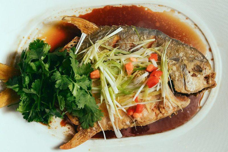 Whole Fish at Bacchanal Buffet