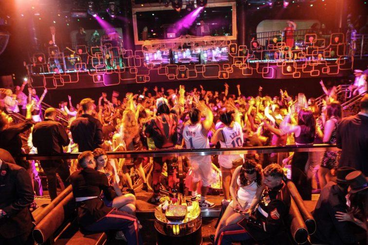 DJ CLA and DJ Que at The Bank Nightclub