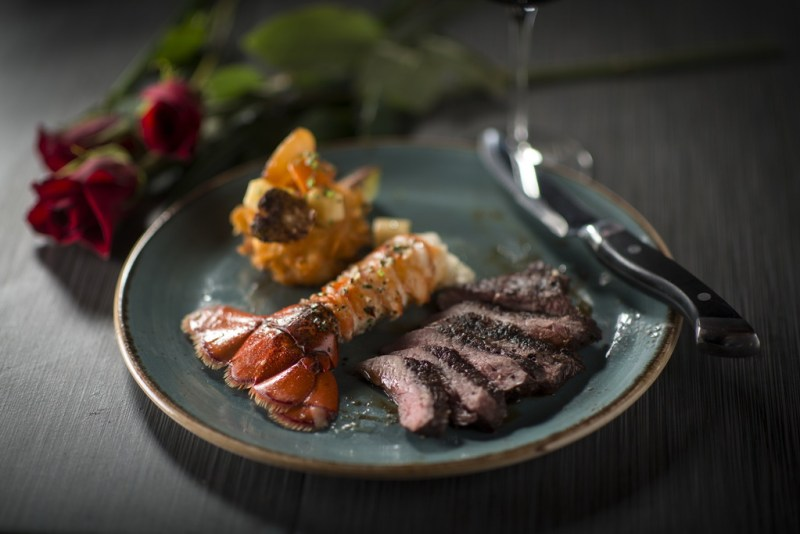 TREVI Valentines Day Surf and Turf by Peter Harasty