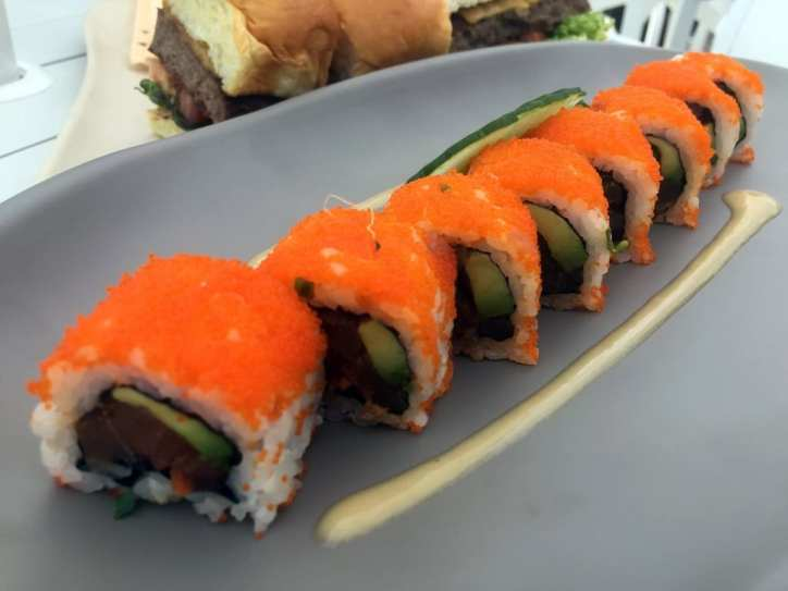 Spicy Tuna Roll - Drai's Cafe - Photo by Jeremy Womack