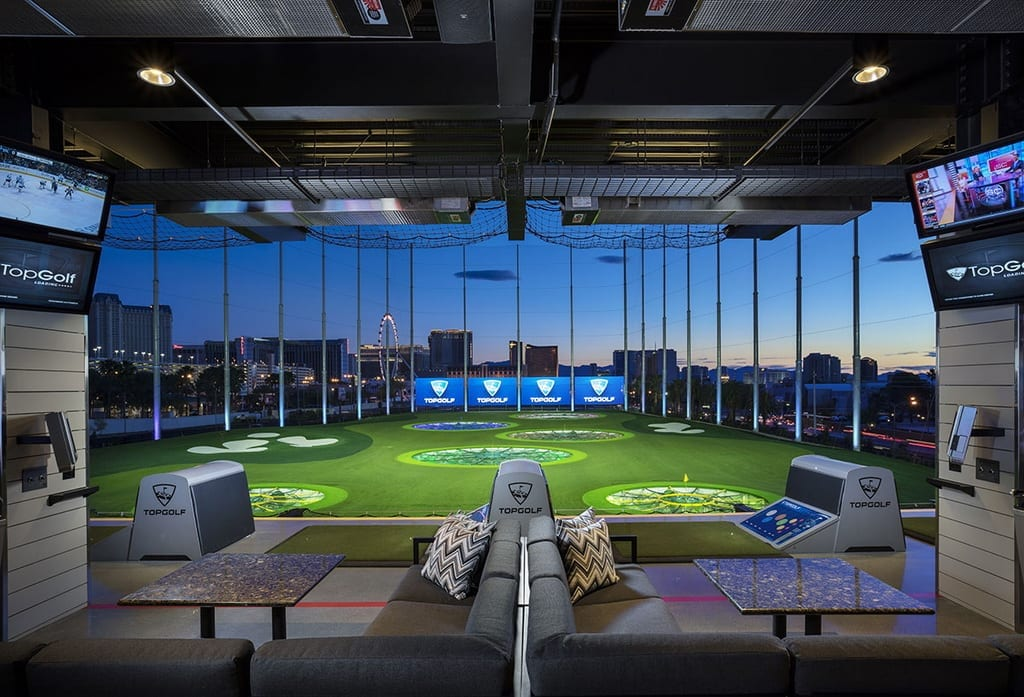 Topgolf Las Vegas Launches Hideaway Pool
