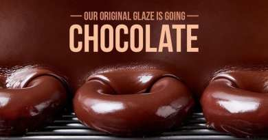 Krispy Kreme Chocolate Glazed Doughnut