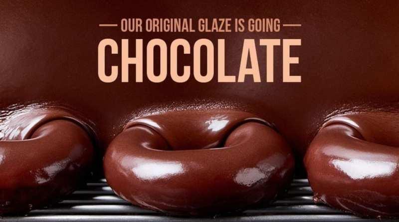 Krispy Kreme Chocolate Glazed Doughnut