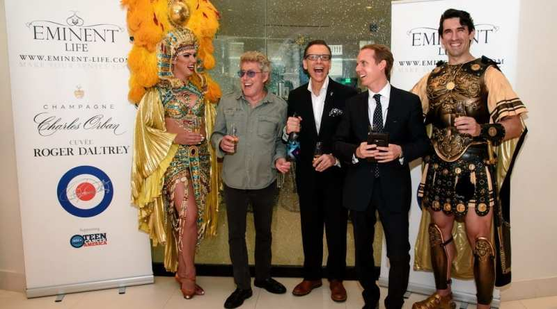 Roger Daltrey Champagne Launch at MR CHOW - Photo Credit Patrick Gray