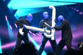 Blue Man Group Performs at Vegas Strong Benefit Concert