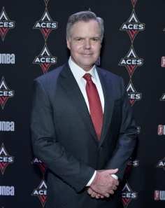 Jim Murren at Las Vegas Aces & MGM Resorts Press Event