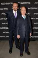 Penn & Teller at Vegas Strong Benefit Concert