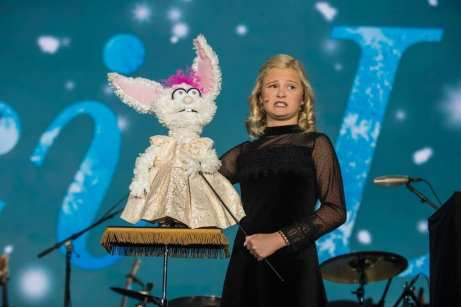 Darci Lynne Farmer at Caesars Palace