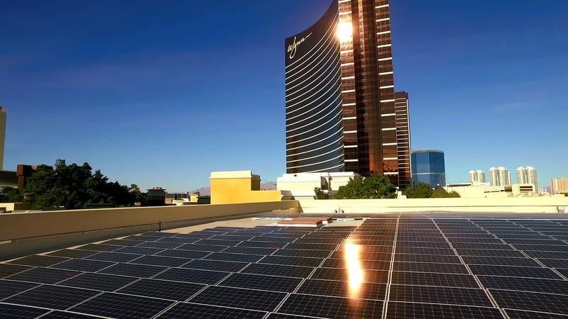 Wynn Las Vegas Introduces Solar Energy Facility