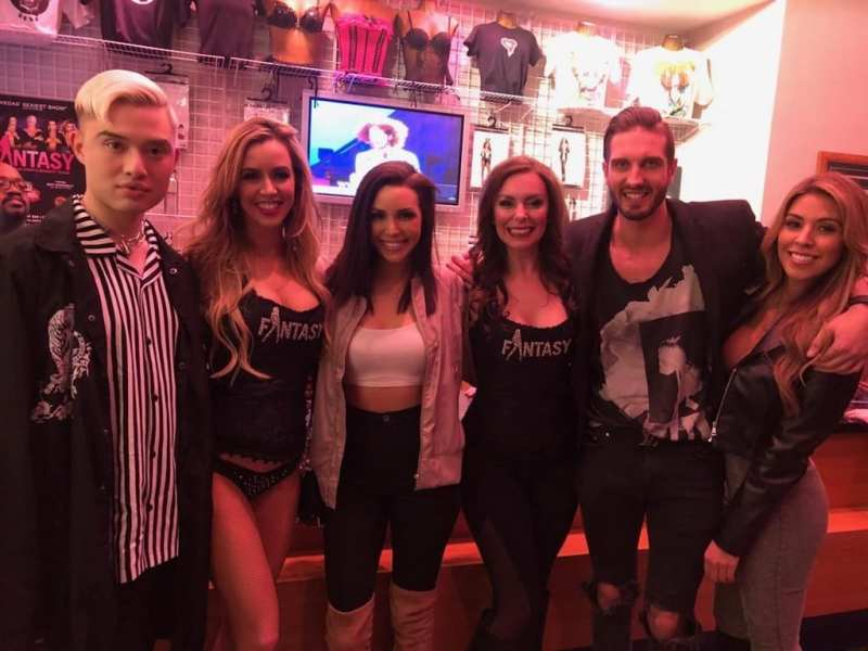 Cast Members of FANTASY with Chester Lockhart and Scheana Shay of Sex Tips