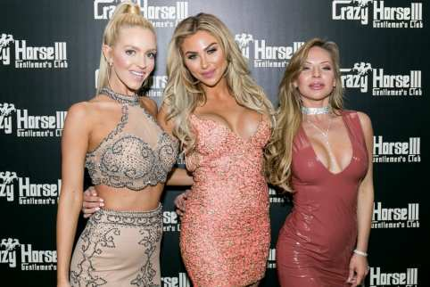 Chealse Sophia Howell, Khloe Terae and Maisa Kehl on Red Carpet at Crazy Horse III