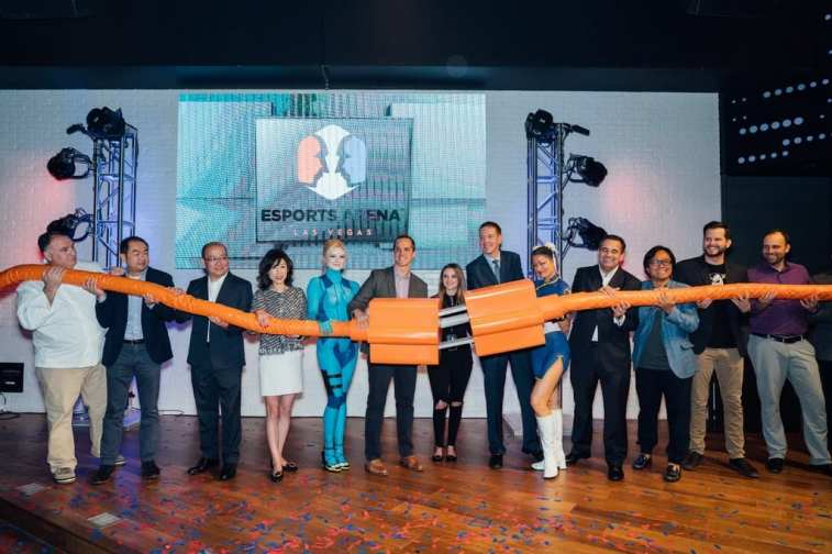 Esports Arena Las Vegas celebrated its grand opening on March 22, 2018 at Luxor Hotel and Casino