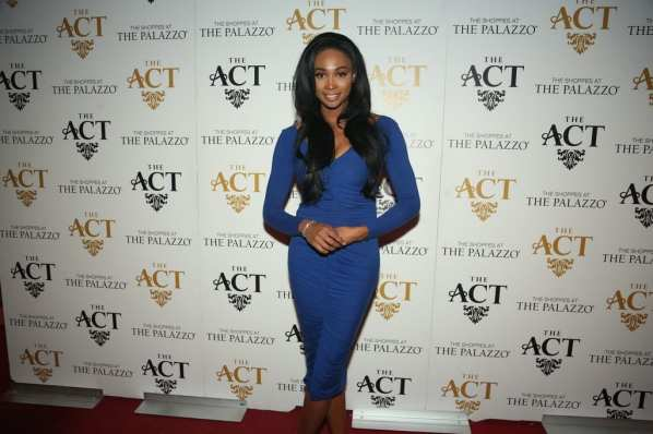 Nana Meriwether on the red carpet at The ACT Nightclub