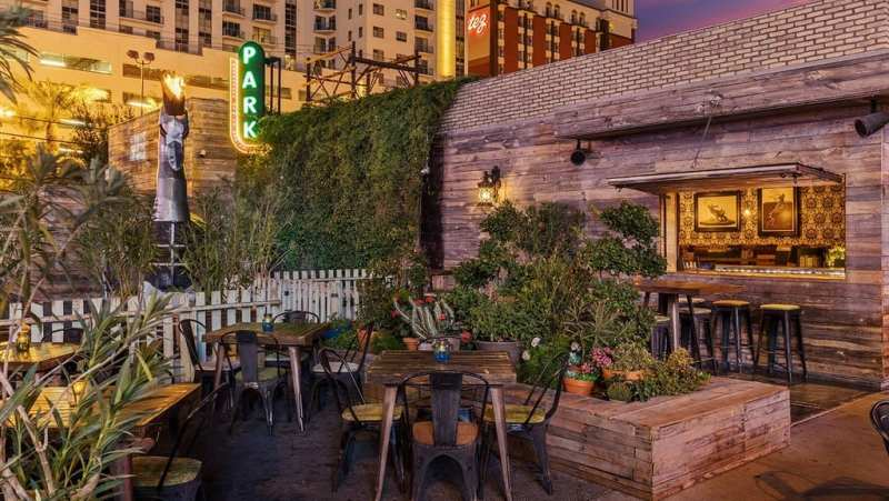 Alfresco dining - Park on Fremont Patio by Anthony Mair