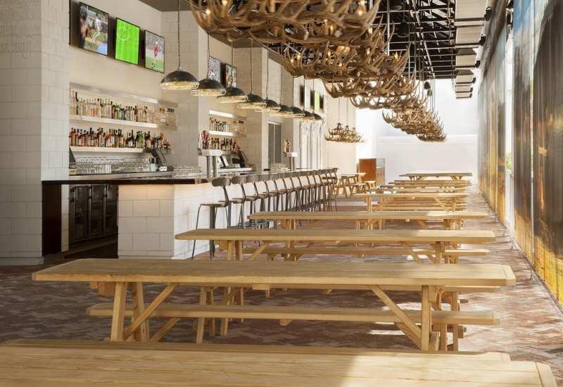 Alfresco dining - SLS Umami Beer Garden