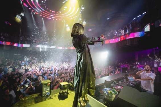 Zedd and Maren Morris at OMNIA Nightclub - Photo Cred Joe Janet
