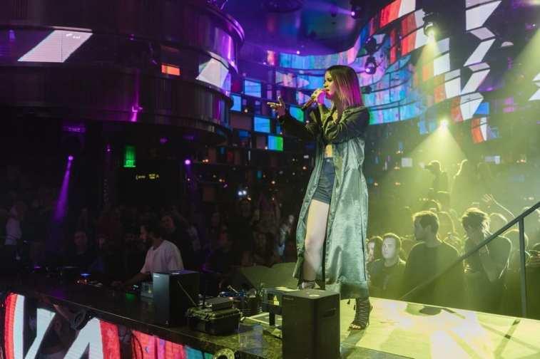Zedd and Marren Morris at OMNIA Nightclub - Photo Cred Joe Janet