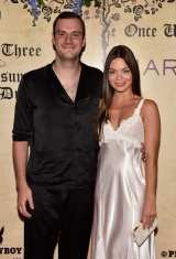 Copper Hefner and Scarlett Byrne at Playboy's Midsummer Night's Dream at Marquee Nightclub