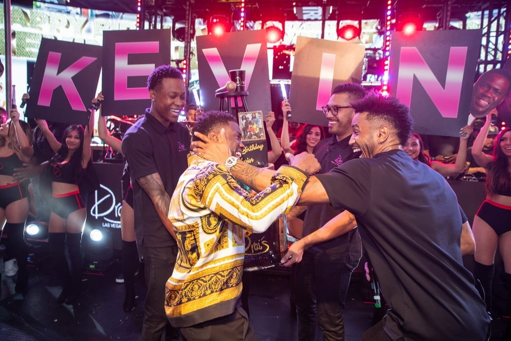 Kevin Hart Birthday Photos & Video at Drai's Nightclub with Trey Songz