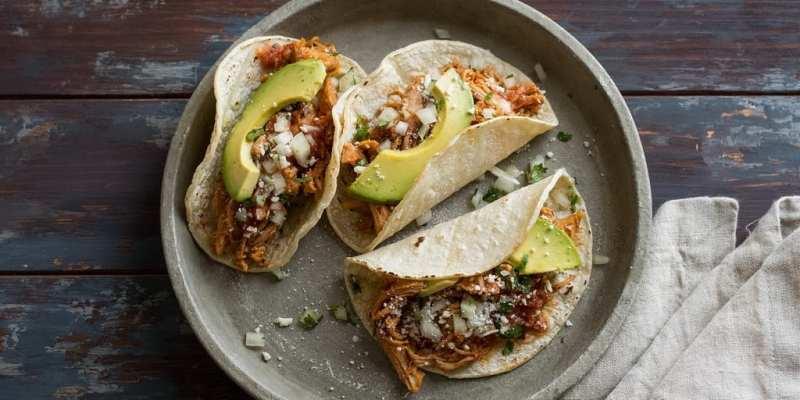 Sharky's Modern Mexican Kitchen - Pork Rojo Tacos