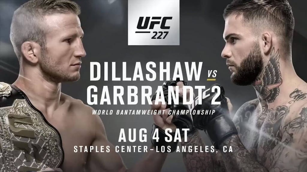 Dillashaw vs. Garbrandt UFC 227 Viewing Party Inside BEER PARK at Paris Las Vegas