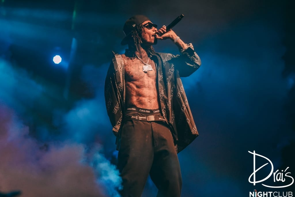 Wiz Khalifa Performs for Sold-Out Crowd at Drai's Nightclub Las Vegas