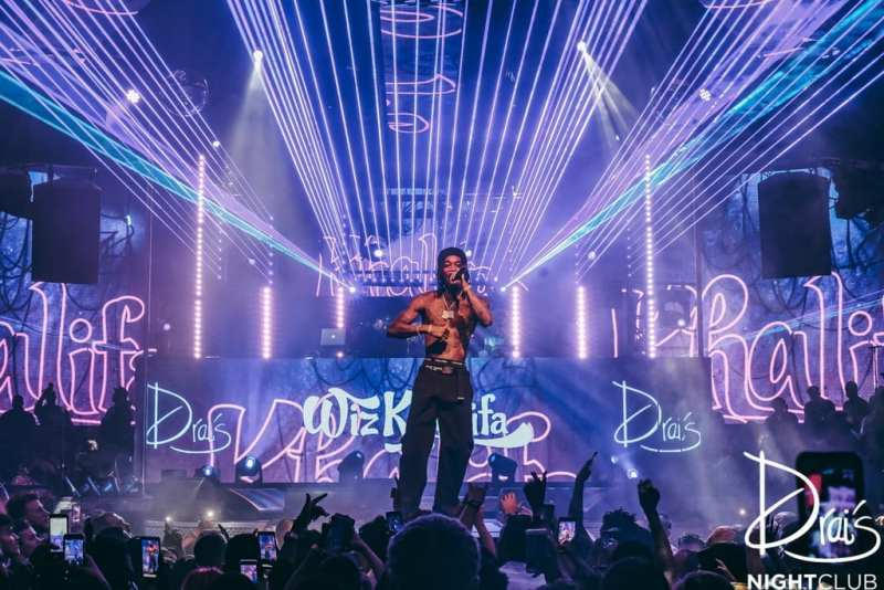 Wiz Khalifa at Drai's Nightclub
