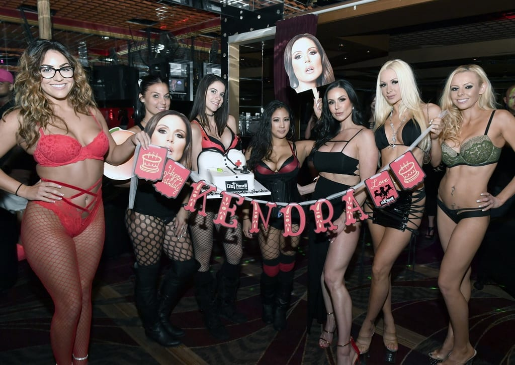 Kendra Lust Photos at Birthday Party Inside Crazy Horse 3 Las Vegas
