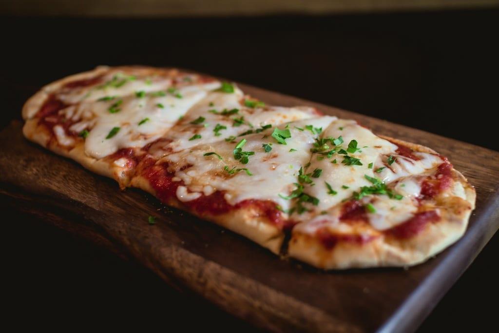 PT's Taverns - Three Cheese Flatbread