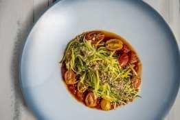 Top of the World - Zucchini Squash Spaghetti