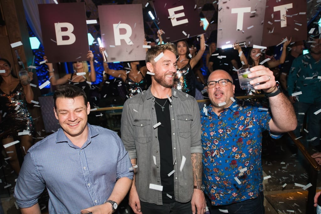 Country Star Brett Young Celebrates Official Bachelor Party at OMNIA Nightclub Las Vegas inside Caesars Palace on Sunday, Sept. 30_ Photo Credit Mike Kirschbaum