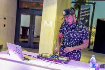Las Vegas Fashion Council - DJ Jamal brining the tunes. Photo Credit_ Joel Cada