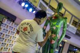Las Vegas Fashion Council - Mannequin in the making by artist Tanya Michelle. Photo Credit_ Joel Cada