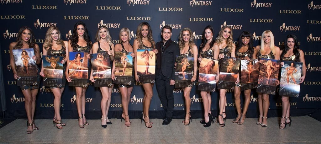 The Golden Goddesses of FANTASY Calendar