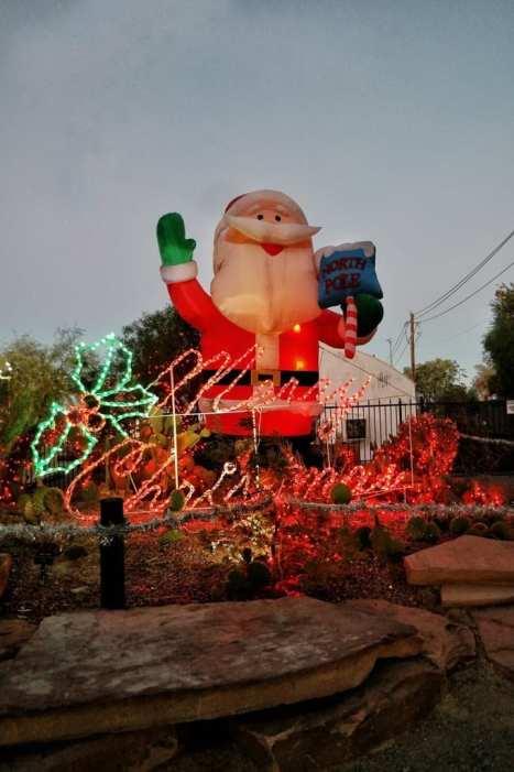 Ethel M Holiday Lighting