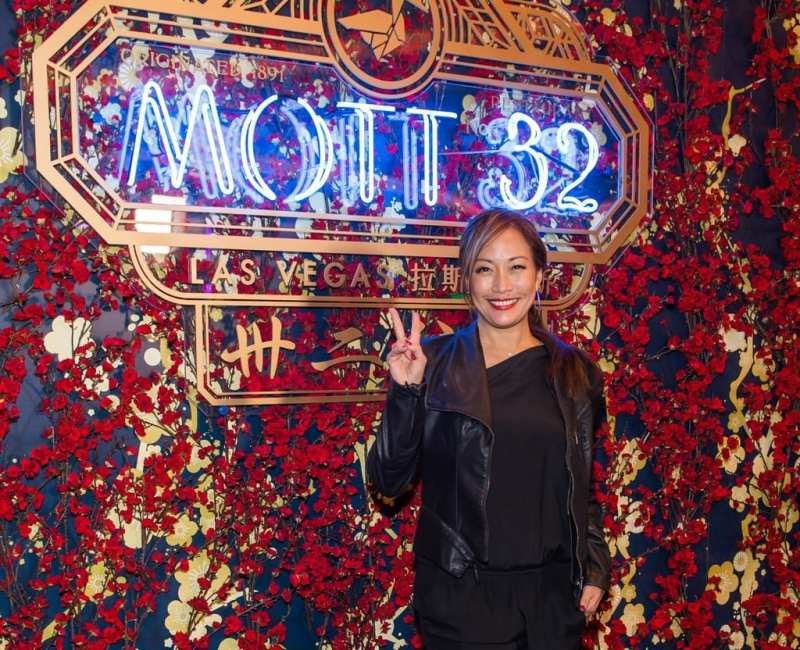 Carrie Ann Inaba at the Mott 32 grand opening at The Venetian Resort Las Vegas, 12.28.18_Credit Brenton Ho (2)